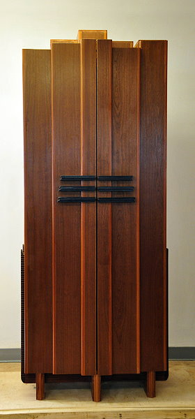 Blue Armoire Closed